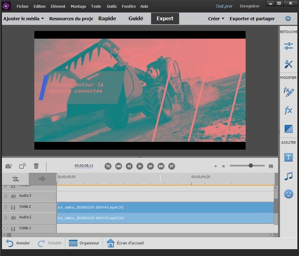 Screenshot from Adobe EP 2019