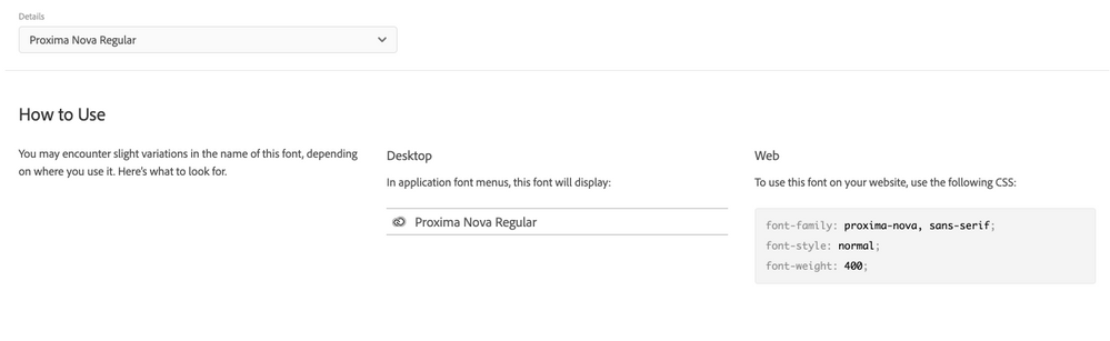 Issues Getting Promixa Nova Italic To Display On W Adobe Support Community 11008434