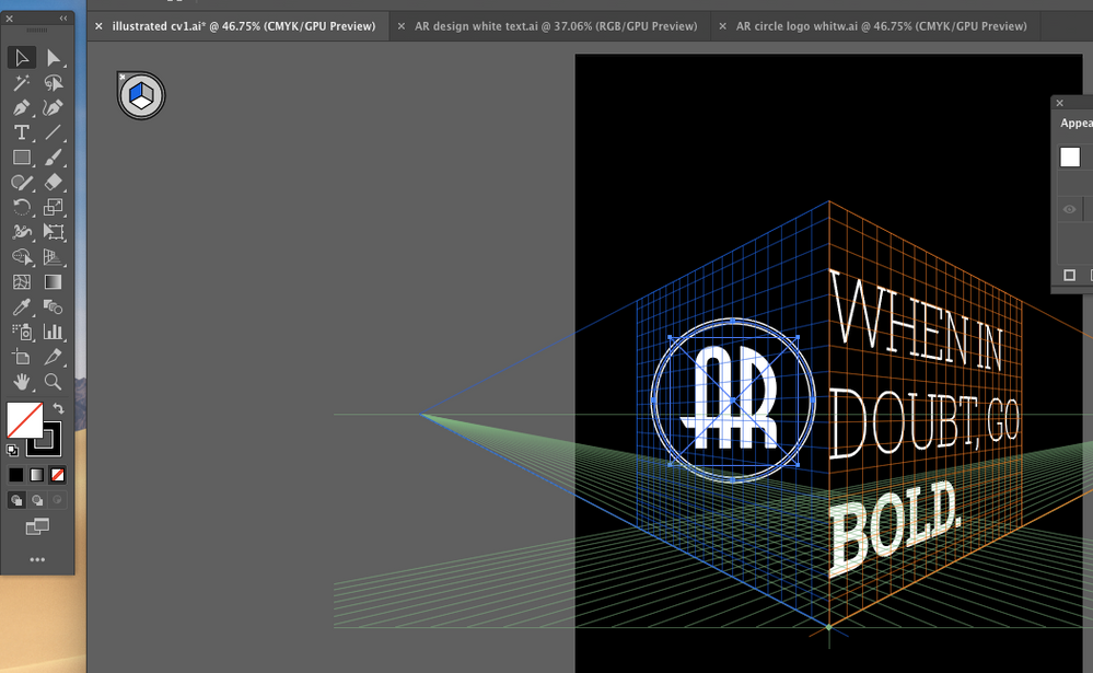 I want the logo to go on the left side grid. I tried both sides and it just won't go onto the grid.  :(