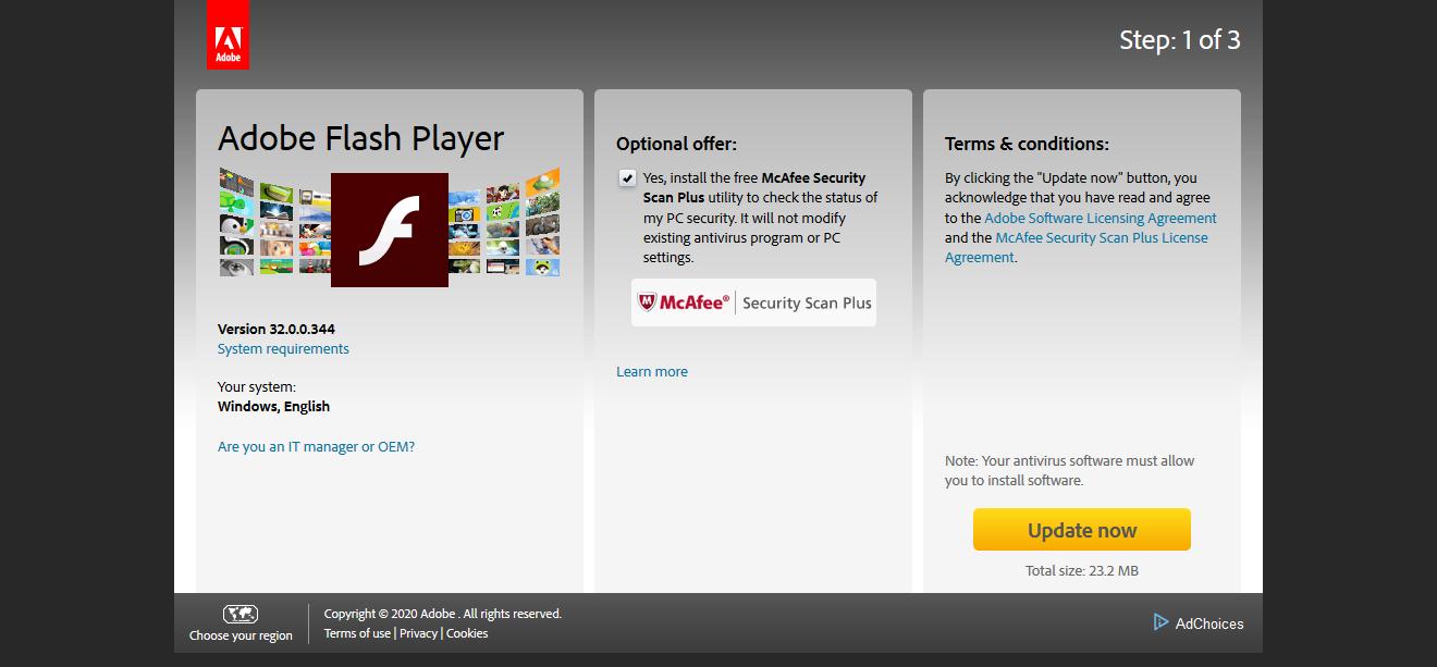 как установить adobe flash player на tor browser