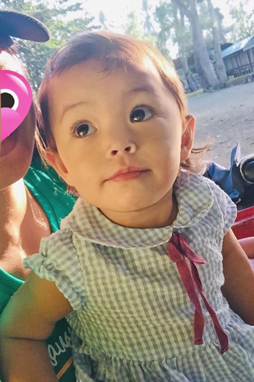 My 17 month old Asian/American daughter