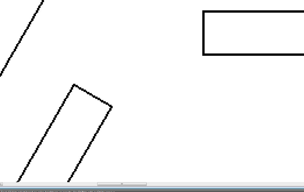 2 pixel raster