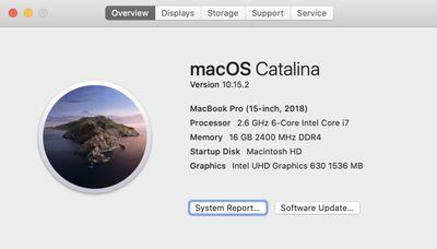 System info (macOS)