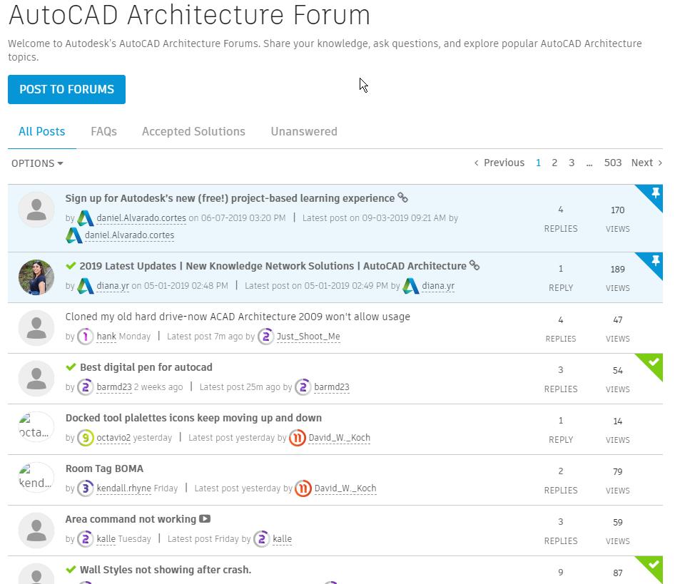 2019-10-06 17_10_23-AutoCAD Architecture Forum - Autodesk Community.png