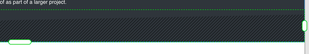 Cropped lines in XD on Mac