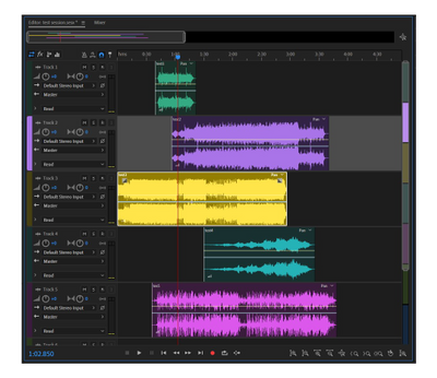 Multitrack Editor in Audition png.png