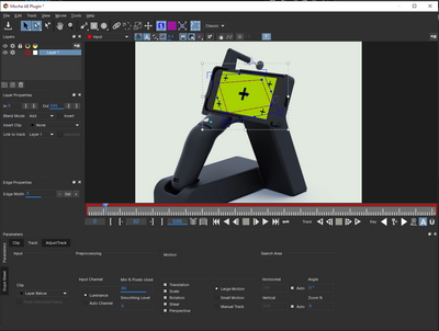 but when I adjust with the planar surface tool then scrub through the video, it goes completely off..