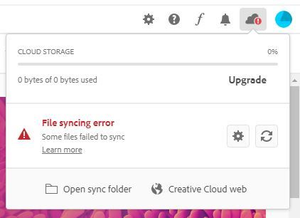 cloud Storage error.JPG